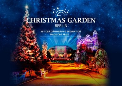 Christmas Garden Berlin         Fr-So15.11.19 – 05.01.20