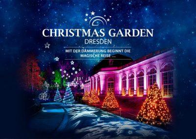 Christmas Garden Dresden         Do-So14.11.19 – 05.01.20